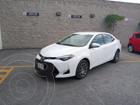 Toyota Corolla Base usado (2018) color Blanco precio $270,000