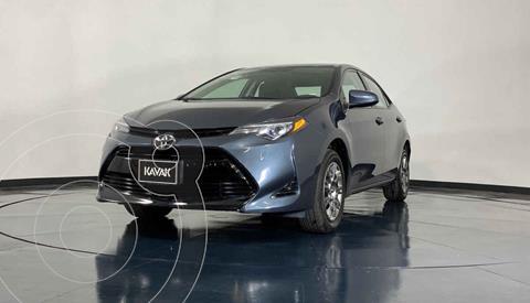 Toyota Corolla Base Aut usado (2018) color Azul precio $259,999
