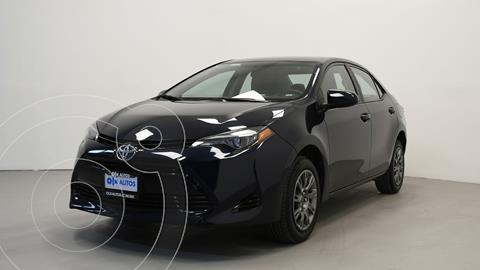 Toyota Corolla Base usado (2017) color Negro precio $212,000