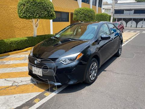 Toyota Corolla Base Aut usado (2015) color Negro precio $159,900