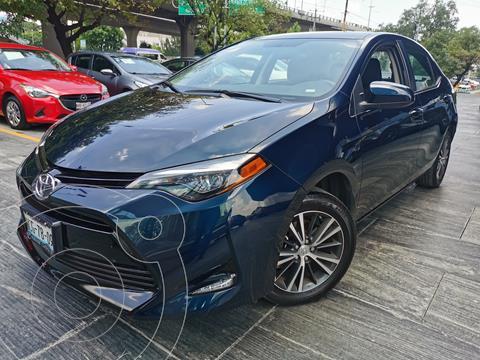 Toyota Corolla LE Aut usado (2018) color Azul precio $265,000