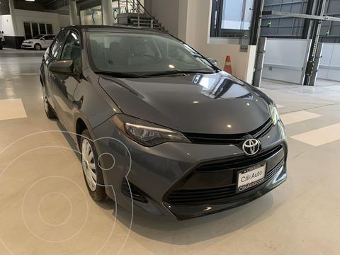 Toyota Corolla Base usado (2018) color Gris Oscuro precio $259,000