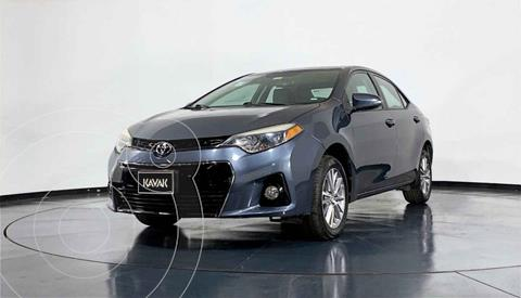 Toyota Corolla S 1.8L  usado (2014) color Gris precio $194,999