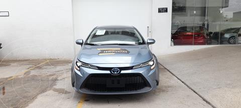 Toyota Corolla LE 1.8L usado (2020) color Azul precio $384,000
