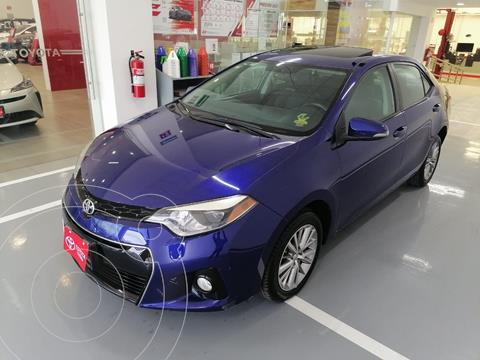 Toyota Corolla S Aut usado (2014) color Azul precio $177,000