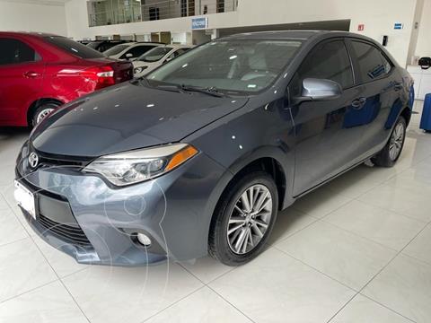 Toyota Corolla LE 1.8L usado (2014) color Gris precio $184,500