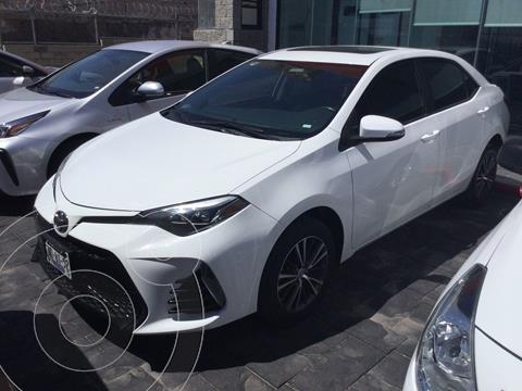 Toyota Corolla S 1.8L  usado (2018) color Blanco precio $258,000