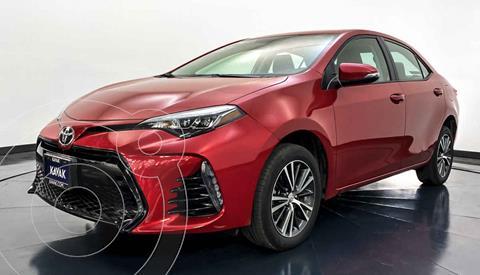 Toyota Corolla Base Aut usado (2018) color Rojo precio $287,999