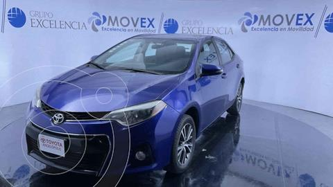 Toyota Corolla S 1.8L  usado (2016) color Azul precio $215,000