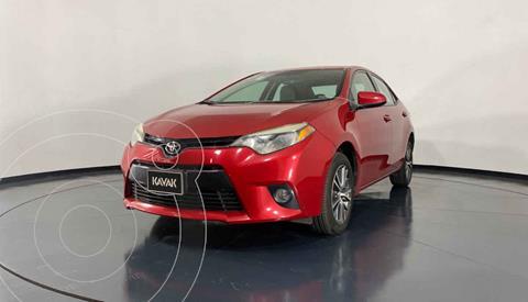 Toyota Corolla LE 1.8L Aut usado (2016) color Rojo precio $219,999