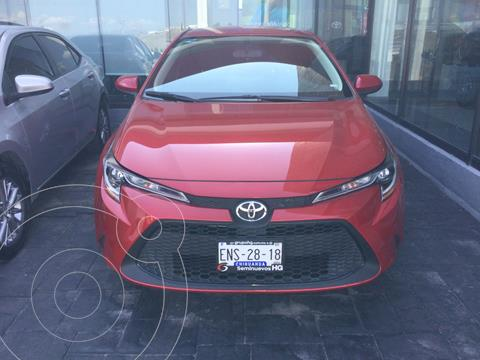 Toyota Corolla LE Aut usado (2020) color Rojo precio $325,000