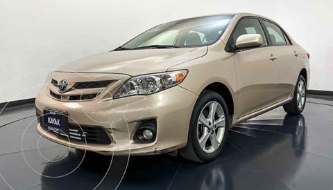 Toyota Corolla XLE 1.8L Aut usado (2012) color Dorado precio $152,999