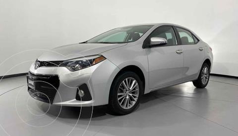 Toyota Corolla SE Aut usado (2014) color Plata precio $182,999