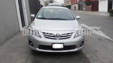 Toyota Corolla  1.6 GLI usado (2013) color Plata precio u$s11,200