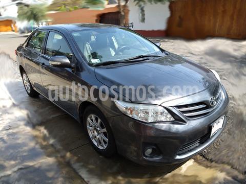 Toyota Corolla  1.6 XLI usado (2012) color Gris precio u$s10,000