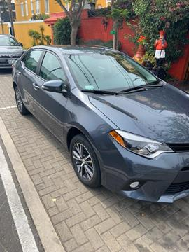 Toyota Corolla  Xli 1.6L Full usado (2016) color Gris Oscuro precio u$s16,000