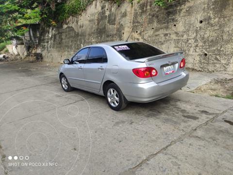 Toyota Corolla GLi 1.8L Aut usado (2008) color Plata precio u$s6.500