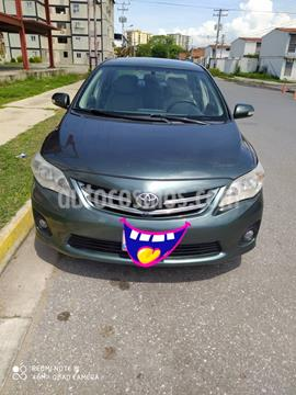 Toyota Corolla GLi 1.8L usado (2013) color Verde Oceano precio u$s14.000