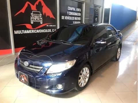 Toyota Corolla Gli Sinc. 1.8 usado (2009) color Azul precio u$s7.900
