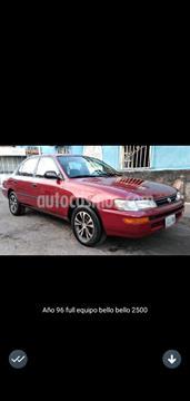 Toyota Corolla XLI 1.6 usado (1997) color Rojo precio u$s2.400
