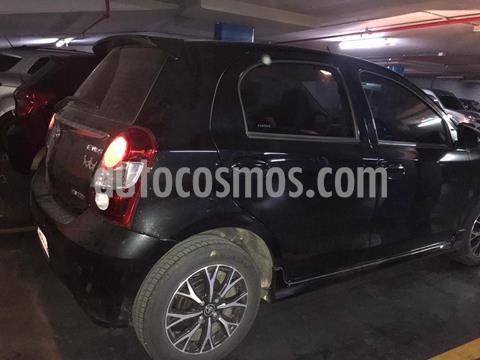 Toyota Etios Hatchback Platinum Aut usado (2018) color Negro precio $1.500.000