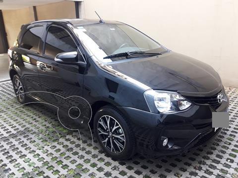 Toyota Etios Hatchback XLS Aut usado (2019) color Negro precio $1.720.000