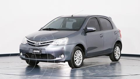 Toyota Etios Hatchback XLS usado (2016) color Gris Oscuro precio $1.280.000