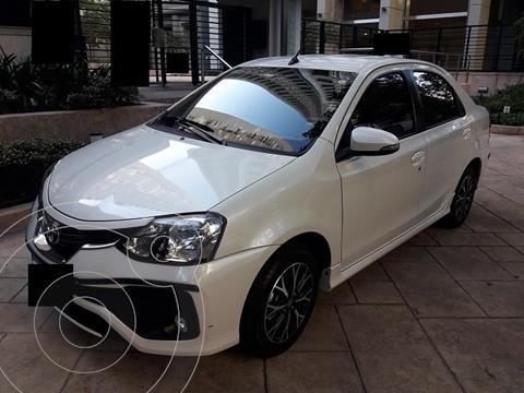 Toyota Etios Sedan Platinum Aut usado (2018) color Blanco Perla precio $1.660.000