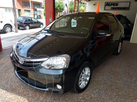 Toyota Etios Sedan XLS usado (2016) color Negro precio $1.150.000