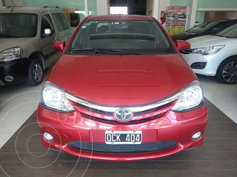 Toyota Etios Sedan XLS usado (2014) color Rojo precio $980.000