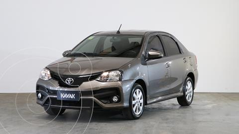 Toyota Etios Sedan XLS usado (2018) color Gris Oscuro precio $1.500.000