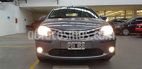 Toyota Etios Sedan XLS usado (2015) color Gris Oscuro precio $899.999