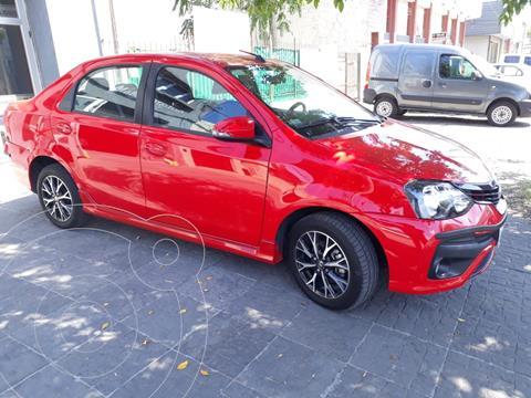 Toyota Etios Sedan XLS Aut usado (2019) color Rojo precio $1.600.000