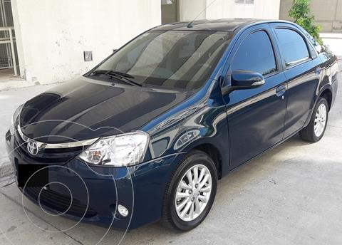 Toyota Etios Sedan XLS 2015/2016 usado (2015) color Azul Oscuro precio $1.020.000