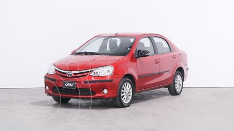 Toyota Etios Sedan XLS usado (2015) color Rojo precio $1.330.000