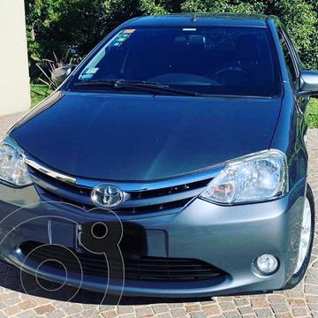 Toyota Etios Sedan XLS usado (2014) color Gris Oscuro precio $960.000