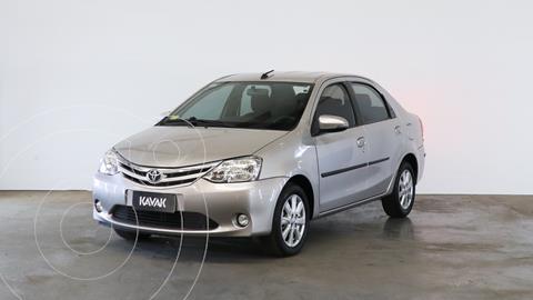 Toyota Etios Sedan XLS usado (2017) color Gris Plata  precio $1.350.000