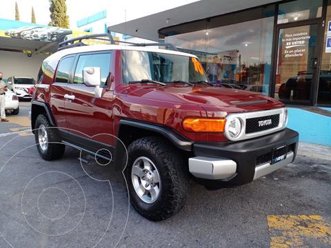 Toyota FJ Cruiser Premium usado (2010) color Rojo Cobrizo precio $379,000