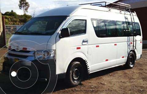 Toyota Hiace Panel 3.0L Commuter Techo alto 16A usado (2017) color Blanco precio u$s28,000