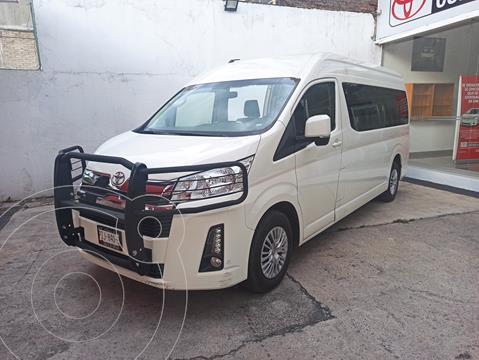 Toyota Hiace 3.5L 12 Pasajeros usado (2021) color Blanco financiado en mensualidades(enganche $169,853 mensualidades desde $13,933)