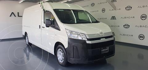 Toyota Hiace 2.7L Panel Larga usado (2020) color Blanco precio $459,900