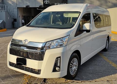 Toyota Hiace 3.5L 12 Pasajeros usado (2021) color Blanco financiado en mensualidades(enganche $141,733 mensualidades desde $14,195)