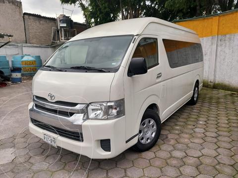Toyota Hiace 2.7L Bus 15 Pas usado (2019) color Blanco precio $507,000