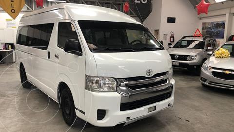 Toyota Hiace 2.7L Ventanas Superlarga usado (2014) color Blanco Magnesio precio $250,000