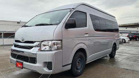 Toyota Hiace 2.7L Bus 15 Pas usado (2019) color Plata precio $499,000