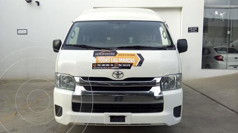 Toyota Hiace 2.7L Bus 15 Pas usado (2018) color Blanco precio $449,000