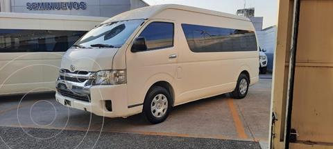 Toyota Hiace 2.7L Bus 15 Pas usado (2014) color Blanco precio $265,000