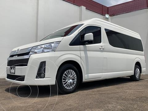 Toyota Hiace 3.5L 12 Pasajeros usado (2020) color Blanco precio $550,000