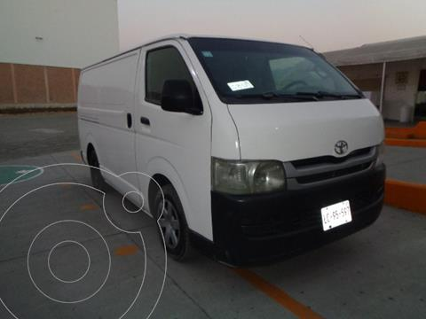 Toyota Hiace 2.8L Panel Superlarga usado (2010) color Blanco precio $115,000