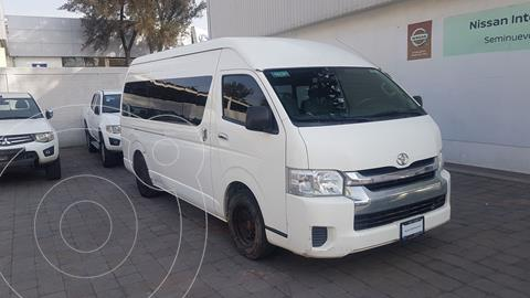 Toyota Hiace 2.7L Bus 15 Pas usado (2014) color Blanco precio $255,000